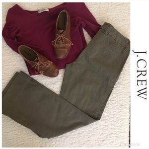 J Crew Olive Green Favorite Fit Pant